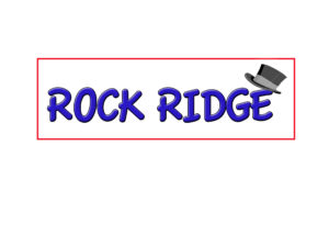 Rock Ridge Unisex Restroom Sign Black//White ADA Compliant